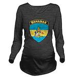Bahamas Long Sleeve Maternity T-Shirt