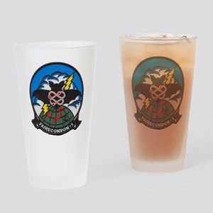 vq1 patch transparent Drinking Glass