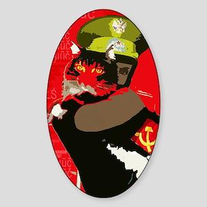 Propagandacat Sticker (Oval)