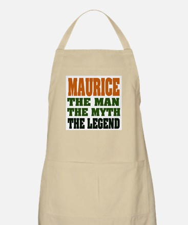 MAURICE - the man, the legend BBQ Apron