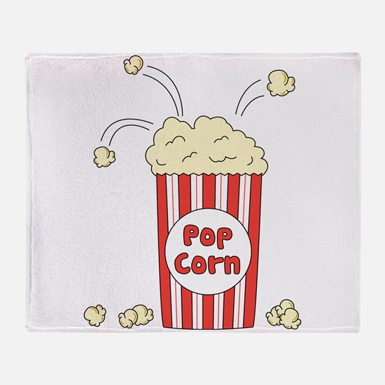Pop Corn Throw Blanket