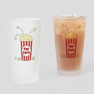 Pop Corn Drinking Glass