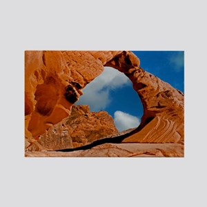 Valley of Fire State Park Mousepa Rectangle Magnet