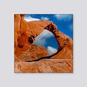"Valley of Fire State Park M Square Sticker 3"" x 3"""