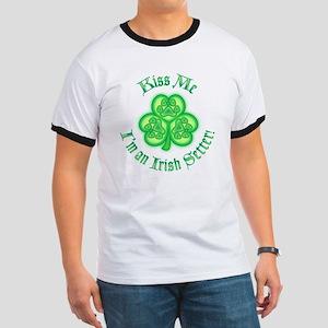 2-Kiss Me Irish Setter Ringer T