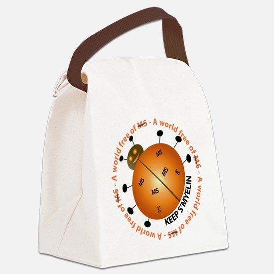 10x10_MSsmile2 Canvas Lunch Bag