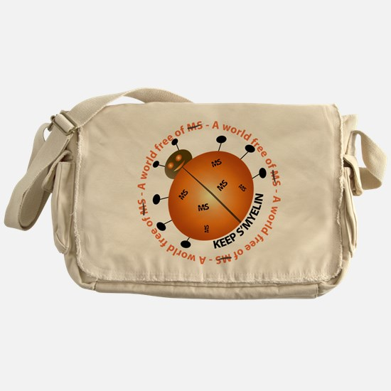 10x10_MSsmile2 Messenger Bag