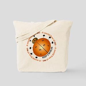 10x10_MSsmile2 Tote Bag