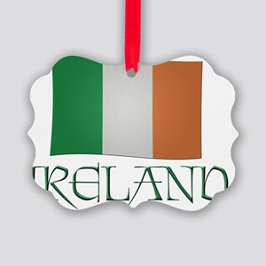 Irish-flag-Ireland Picture Ornament
