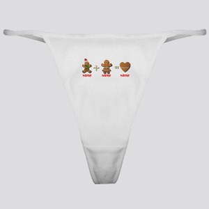 Gingerbread Man Classic Thong