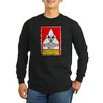 Biohazard Shirt Long Sleeve Dark T-Shirt