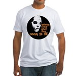Behind the Mask   Fitted T-Shirt