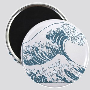 great_wave_blue_10x10 Magnet