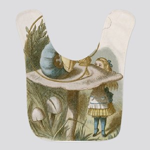 Alice and the Caterpillar Bib