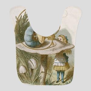 Alice and the Caterpillar Bib