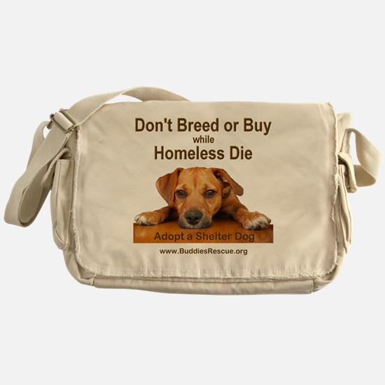 dont_breed_or_buy_puppy_1a-trans Messenger Bag