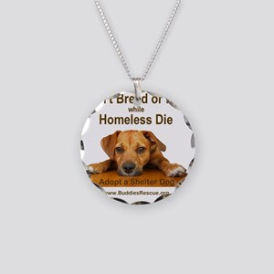 dont_breed_or_buy_puppy_1a-t Necklace Circle Charm