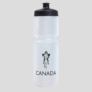 Retro Canada Sports Bottle