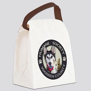 Humane Society of Warren County L Canvas Lunch Bag