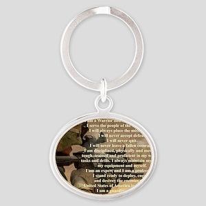 creed2321 Oval Keychain