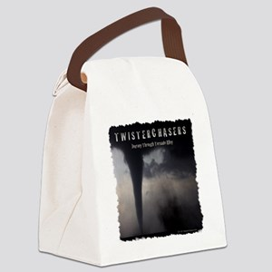 TwisterChasers T Shirt Canvas Lunch Bag