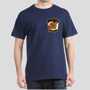 USCG Fire Department<BR> Dark T-Shirt 2