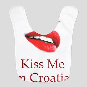 Kiss Me Croatian Bib