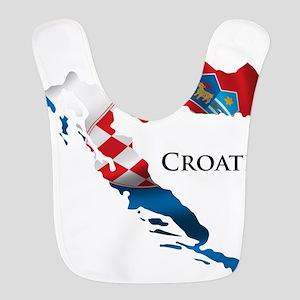 Map Of Croatia Bib