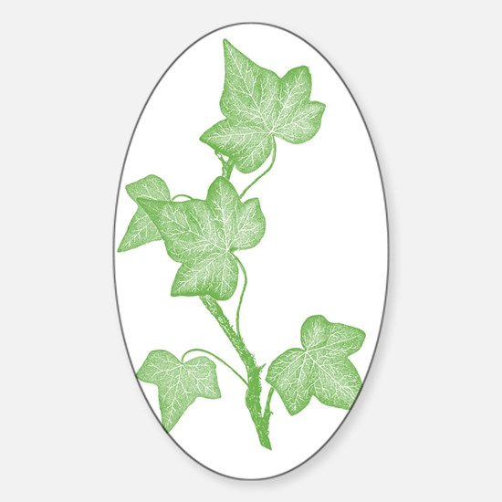 IvyLeaves Sticker (Oval)