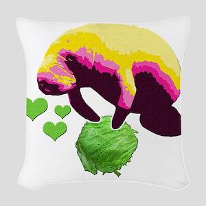 10x10_apparel copy Woven Throw Pillow