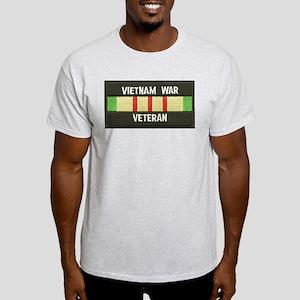 RVN War Veteran Ash Grey T-Shirt
