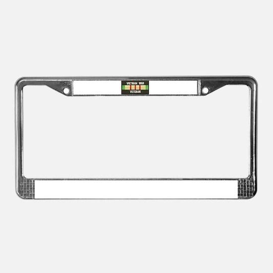 RVN War Veteran License Plate Frame
