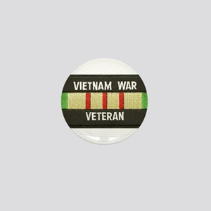 RVN War Veteran Mini Button