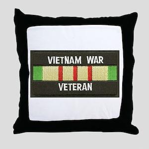 RVN War Veteran Throw Pillow