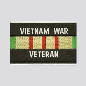 RVN War Veteran Rectangle Magnet