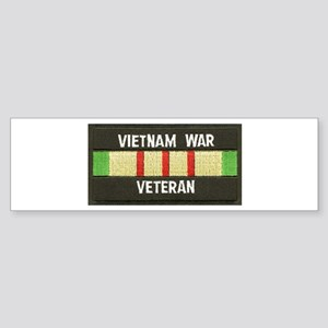 RVN War Veteran Bumper Sticker