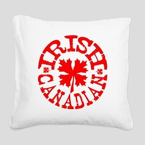 irishcanadianR Square Canvas Pillow