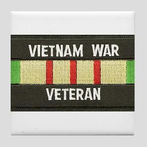 RVN War Veteran Tile Coaster