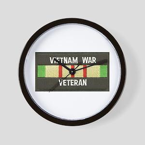 RVN War Veteran Wall Clock
