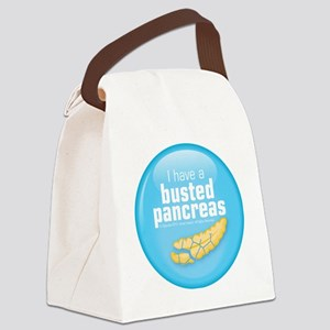 busted Canvas Lunch Bag