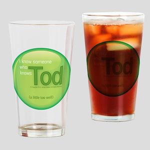 2-knowstod Drinking Glass