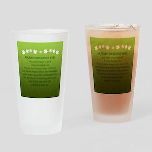 2-FriendshipWishSquare_Bleed Drinking Glass