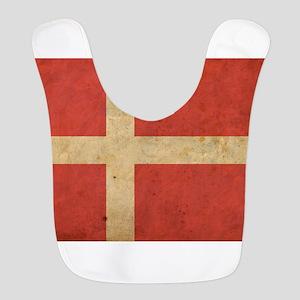 Vintage Denmark Flag Bib