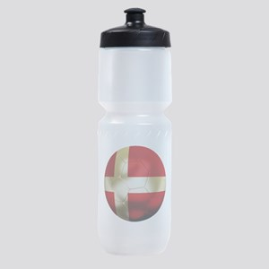Denmark Football Sports Bottle