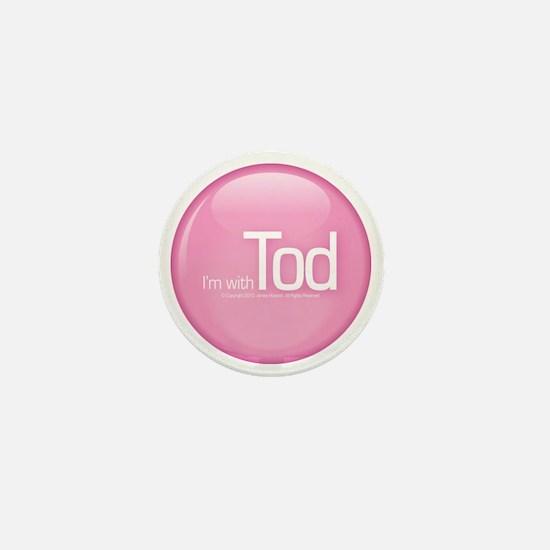 withtod_pink Mini Button