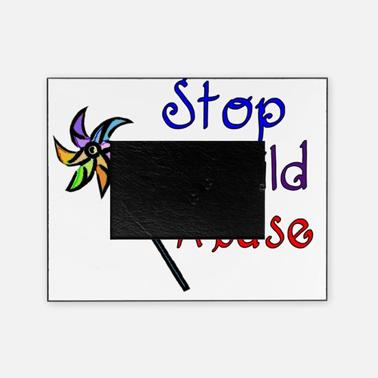 Stop Child Abuse Picture Frame