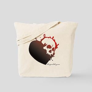 trust_love_noLOVE Tote Bag