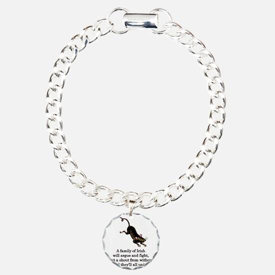 familyofirish. Charm Bracelet, One Charm