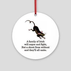 familyofirish. Round Ornament