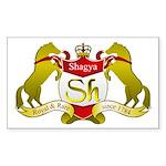 Shagya Merchandise Rectangle Sticker